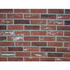 Brick Tile Backsplash Kitchen Shop Brick Veneer U0026 Accessories At Lowes Com