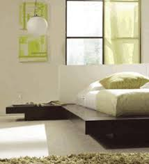Asian Inspired Platform Beds - japanese style contemporary platform bed