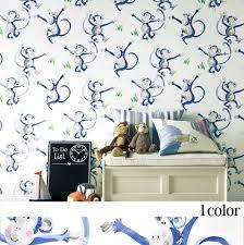 monkey wallpaper for walls kabegamiyahonpo rakuten global market paper made wallpaper