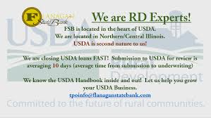 Usda Rd by Flanagan State Bank Tpo Division