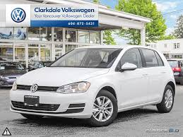 white volkswagen new 2017 volkswagen golf 4 door car in vancouver bc n016336