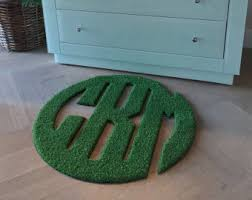 Monogrammed Rugs Outdoor by Monogram Rugs Etsy