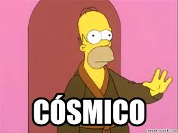 Simpson Memes - simpson cósmico