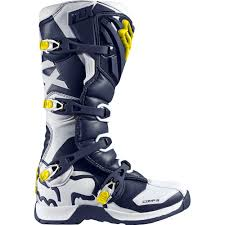 fly maverik motocross boots fox racing 2016 youth comp 5y se boots white yellow available at