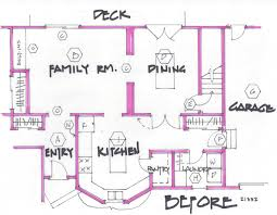 home design blueprint awesome design draw floor plan step