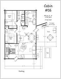 large cabin plans floor plan with log plans porch cottage lofts two mountain