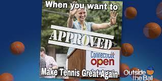 Approved Meme - petra kvitova gives her favorite meme petra approval outside the ball