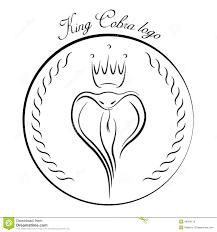 king cobra logo stock vector image of clinic illustration