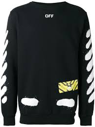 off white men clothing sweatshirts compare prices and buy online