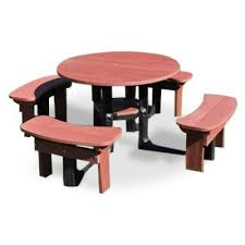 recycled plastic picnic tables bentley recycled plastic plastic picnic table cafe reality