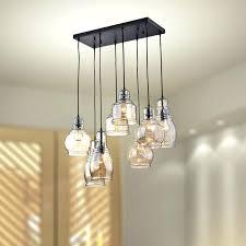 Pendant Lighting Lowes Cluster Globe Pendant Lighting Cognac Glass 8 Light Cluster