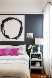 Dark Grey Accent Wall by Designer Lauren Nelson Invites Us Into Her Sunny San Francisco