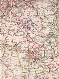 old map of west midlands u2022 mapsof net
