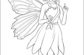 10 images princess fairy coloring pages barbie mariposa