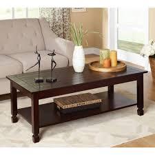 beautiful coffee tables glass hometrends glass top coffee table 6000187831362 walmart