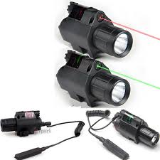 tactical light and laser combo q5 led tactical flashlight green red laser sight scope