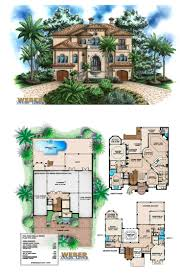 mediterranean style floor plans 108 best beach house plans images on pinterest