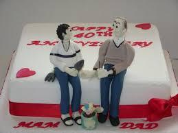 ruby wedding cakes jackie s 40th wedding anniversary cake casa costello