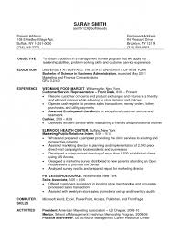 examples of resumes for customer service call center