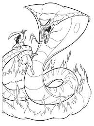 realistic snakes coloring pages california king snake color page