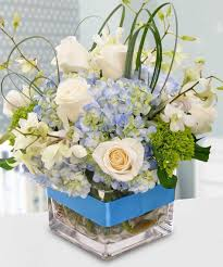 White Roses Centerpieces by Reception Centerpieces