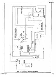 ez go electric golf cart wiring diagram to 33 1989 1991 power