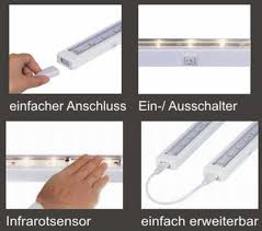 unterbauleuchten led k che led küchen unterbauleuchte mit sensor u16 leuchtenservice shop