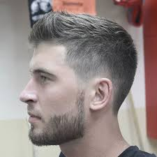 textured top faded sides men s short haircuts 2018