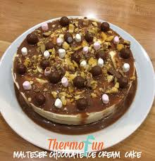 thermomix malteser chocolate ice cream cake thermofun thermomix re