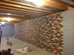 How To Enclose Basement Stairs The Seams On A Stamped Concrete Wall Disappear When The