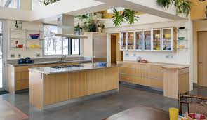 warm modern kitchen modern kitchen cabinetry stauffer woodworking