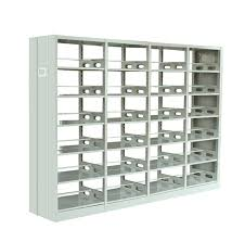 wrought iron columns used library shelving metal book rack buy