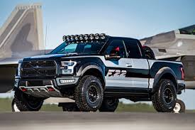future ford f150 f 22 fighter jet inspired ford f 150 raptor sold for 300k