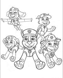 free online coloring pages paw patrol 308 best crafts coloring