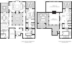 moroccan riad floor plan two bedroom riad private residence four seasons resort marrakech
