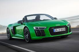 the hulk goes new audi r8 spyder v10 plus revealed by car