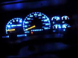 chevy silverado interior lights chevy tahoe l e d gauge conversion youtube