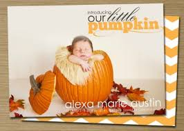 25 adorable fall birth announcements from etsy babble