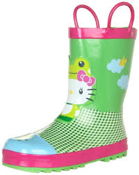 amazon western chief kitty froggy rain boot toddler