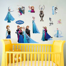 sticker toilet picture more detailed picture about new the snow new the snow queen art stickers cartoon art mural kids wall stickers for wall home decor