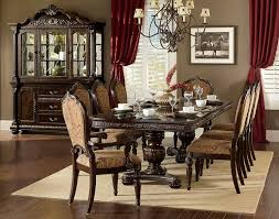 Russian Hill Upholstery Homelegance Florentina Dining Set Silver Gold 1867 Dining Set