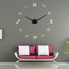 modern kitchen clock diy wall clock for the better ornament inside of a room large