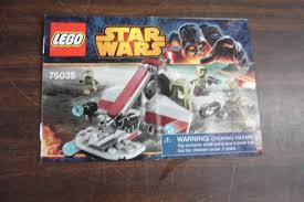 lego star wars 75035 instruction manual booklet only enkore kids