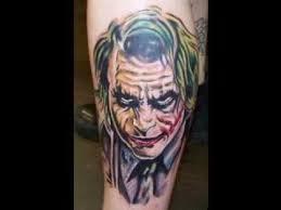 joker tattoo design youtube