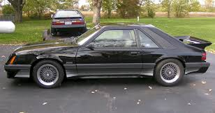 Black Fastback Mustang Black 1986 Saleen Ford Mustang Fastback Mustangattitude Com