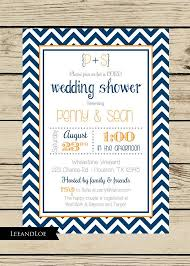coed bridal shower chevron wedding shower invitation couples coed bridal rehearsal