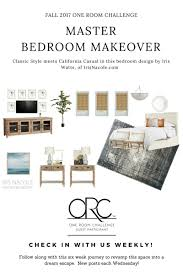 fall 2017 one room challenge guest participants week meets california casual master bedroom makeover week 3