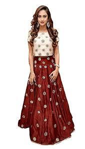 top design attire design s maroon taffeta silk embroidered wedding crop