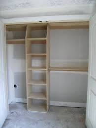 Diy Build Shelves In Closet by Good Idea For Closet Shelves Think I May Try This And Cover The
