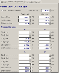 Lvl Beam Span Table by Enercalc Version 5 8 Non Current Retired Version